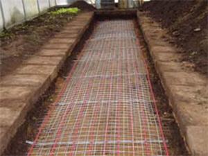 Укладка кабеля в земле