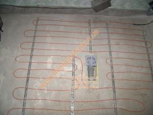 теплый пол кабель