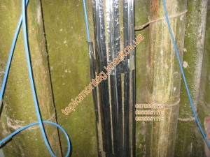 Обогрев труб греющим кабелем